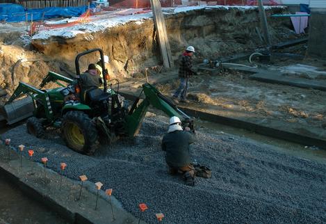 Какой щебень нужен для строительства дороги