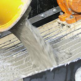 Прочность бетона в зависимости от фракции щебня